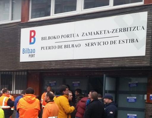 Puerto bilbao firmada la revisi n salarial para 2017 de for Laboral kutxa oficinas bilbao
