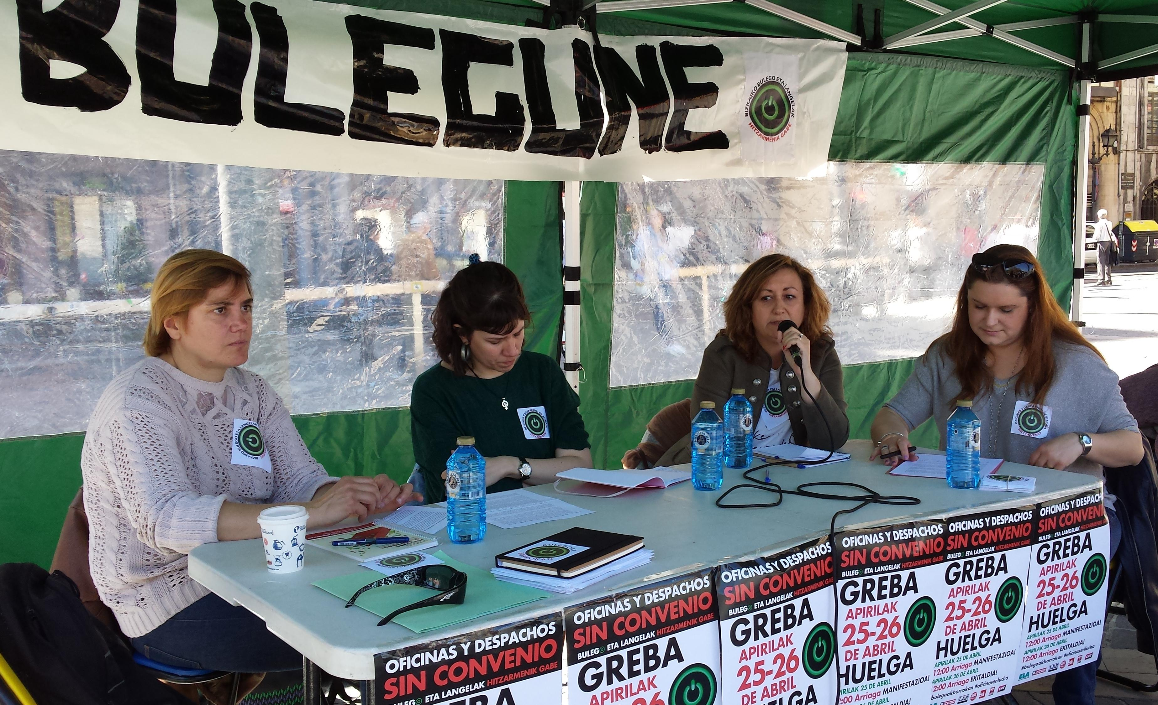 Ugt euskadi participa en actividades del bulegune for Oficinas laboral kutxa bilbao